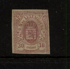 Luxembourg 10 mint og tiny thin catalog $540.00 Kel0420