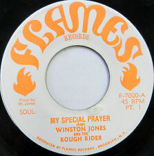 WINSTON JONES & ROUGH RIDER 45 My Special Prayer FLAMES Reggae #A461