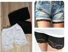 Cute Lace Leggings Safety Shorts Pants Women Lady Thights