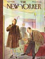 1952 New Yorker January 26- Price Tag of a New Fur Coat