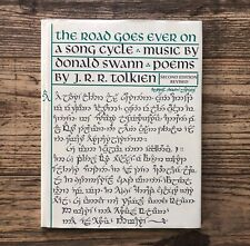 THE ROAD GOES EVER ON, Donald Swann and J. R. R. Tolkien, HC (1978)