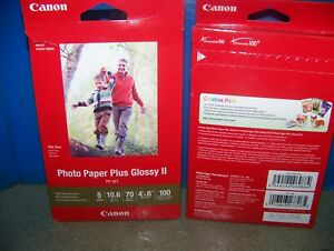 two boxes inkjet photo paper