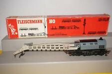 RF19] FLEISCHMANN H0 5595 Kranwagen Krupp-Ardelt OVP Kurbel fehlt