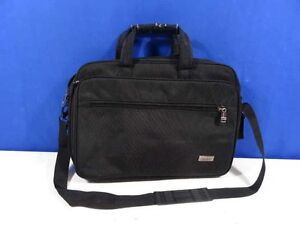 Soft Tumi Black Computer Bag