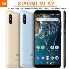 "Xiaomi Mi A2 5.99"" Android 8.1 Snapdragon 660 20MP Dual Camera 4G Phone 4G+64GB"