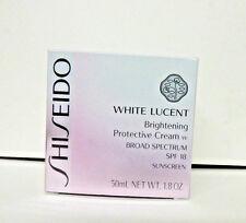 Shiseido White Lucent Brightening Protective Cream w SPF 18 50 ml 1.8 oz NEW