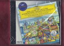 RAVEL-BOLERO/MUSSORGSKY-QUADRI D'ESPOSIZIONE VON KARAJAN CD NUOVO SIGILLATO