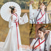 3 Pcs Set Women's Dress Tops Inner Skirt Suit Ancient Costume Hanfu plum blossom
