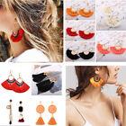 Elegant Bohemian Earrings Women Long Tassel Fringe Boho Dangle Earrings Jewelry