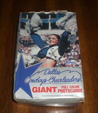 1981 DALLAS COWBOYS CHEERLEADERS CARDS FULL BOX - 36 UNOPENED PACKS