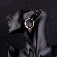 Rose Gold Colour Chunky 925 Sterling Silver Post Gold Hoop Earrings for Women Gi