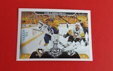 2017/18 Panini Hockey Stanley Cup Finals Sticker #496***Predators/Penguins***