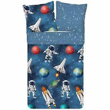 ESPiCO Winter Bettwäsche Trendy Bedding Galaxie Weltraum Space Planeten Flanell