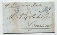 1842 stampless transatlantic New Orleans LA to London [5248.1]