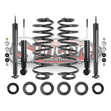 2003-2011 Ford Crown Victoria Front & Rear Shocks Rear Coil Spring Conversion