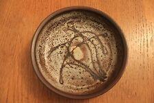 Céramique Années 50 : Michel Anasse Assiette creuse surréaliste signée
