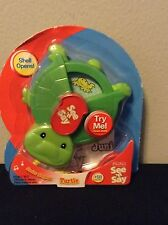 NIB  Mattel Fisher Price See N Say Junior Surprise Turtle Baby Learn Play Kids