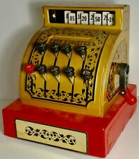 Vintage Buddy L Corp Toy Cash Register Made In Hong Kong 1976