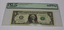 Fr 3000 A* 2009 One Dollar Star Note $ 1 Boston PCGS Graded 66 GEM New
