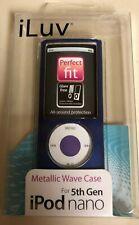 iLuv Metallic Wave Case For 5th Gen iPod Nano