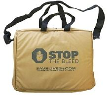 Coyote Brown Stop the Bleed Kit with Six Quik Clot
