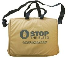 Coyote Brown Stop the Bleed Kit with Three Quik Clot