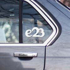 BMW e23 window windshield sticker stance sport decal