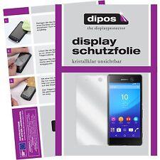2x Sony Xperia M5 Schutzfolie klar Displayschutzfolie Folie dipos Displayfolie
