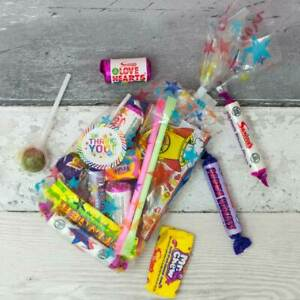 10 Childrens Pre Filled Party Sweet Bags, Kids Birthday Sweet Cone Boys Girls