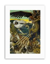 AKSELI GALLEN KALLELA THE DEFENSE SAMPO Canvas art Prints