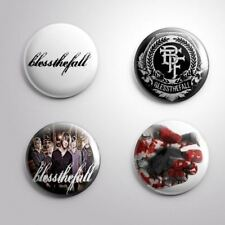 4 BLESSTHEFALL - Pinbacks Badge Button Pin 25mm 1''