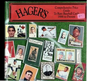 Hager's Baseball Cards Price Guide - used