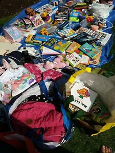 Carboot Joblot clothes,  books, toys etc