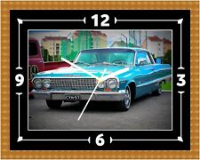 Chevrolet Impala Wall Clock Present Christmas Birthday (Can Be Personalised)