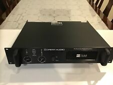 Crest Audio Pro7200 3400 Watt Professional Power Amplifier Pro 7200