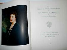 """Vintage Old Antique """"Belle Skinner Collection"""" Instrument Reference Book"""