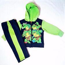 Toddler Boys 2T Teenage Mutant Ninja Turtles HOODIE JACKET TRACK SUIT NWT