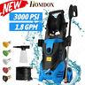 3000PSI 1.8GPM Electric Pressure Washer,High Power Cleaner,Water Sprayer Machine