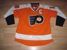 Reebok Philadelphia Flyers Mike Richards Hockey Jersey/Fight Strap/Free Ship!