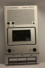 GRUNDIG STENORETTE 2300 L 2300L DICTATION MACHINE PLAYBACK DEVICE UNTESTED