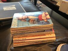 Vintage Cosmopolitan Magazine Lot of 10 Magazines Think Mostly From Early 70s