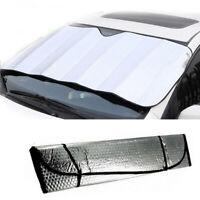 Auto Car Windshield Reflective Screen Window Sun Shade Visor Cover Block Silver