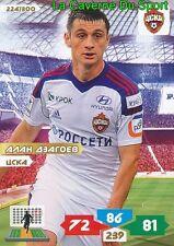 224 ALAN DZAGOEV RUSSIA # CSKA.MOSKVA CARD ADRENALYN PANINI 2014