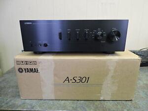 Yamaha A-S301 Integrated Amplifier (Black)