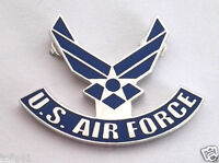 *** US AIR FORCE LOGO II WINGS *** Military Veteran Hat Pin P14276 EE