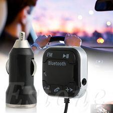 Car Bluetooth Wireless FM Transmitter MP3 Player USB SD LCD Remote Handsfree Kit