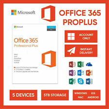 Office 365 MS 2020 For PC/Mac/5 Devices/ 5TB/ Lifetime Account