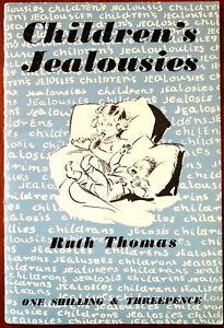 Niños Jealousies Por Ruth Thomas. Padres Guía Serie Libro Vintage