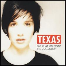 TEXAS - SAY WHAT YOU WANT : THE COLLECTION CD ~ GREATEST HITS / BEST OF *NEW*