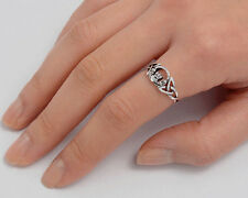 USA Seller Celtic Claddagh Ring Sterling Silver 925 Best Deal Jewelry Size 7